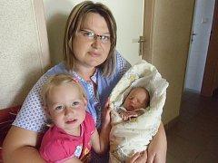 Terezka Klepetková se narodila 17. září v Čáslavi. Vážila 2950 gramů a měřila 50 centimetrů. Doma v Lomci ji přivítala maminka Alena, tatínek Mirek a sestra Alička.