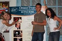 Hlavní aktéři prvního festivalového večera 12. ročníku Operního týdne v Kutné Hoře.