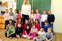 Základní škola T.G. Masaryka Kutná Hora, třída I.A s třídní učitelkou Monikou Kůrkovou