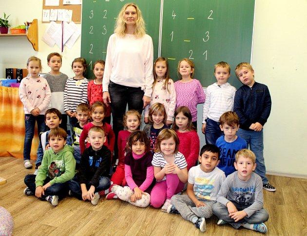 Základní škola T.G. Masaryka Kutná Hora, třída I.Astřídní učitelkou Monikou Kůrkovou