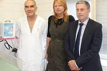 Čáslavská nemocnice má nový resuscitační přístroj