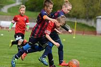 Na kutnohorském stadionu v Lorci se v sobotu odpoledne odehrál fotbalový turnaj přípravek.