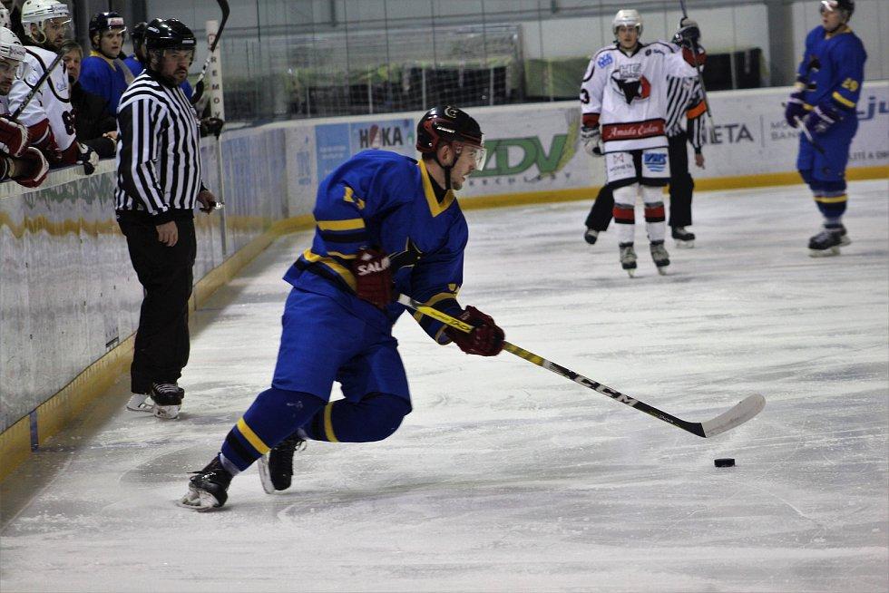Čáslavští hokejisté podlehli doma Černošicím 1:4.