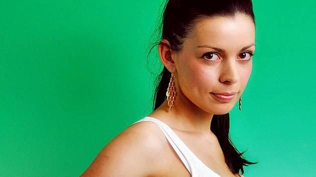 Finalistka Miss hasička 2013 Martina Papíková