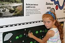 Expozice Příběh řeky Sázavy ve Zruči nad Sázavou.