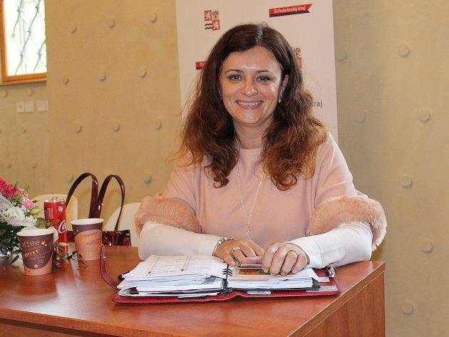 Hejtmanka Jaroslava Pokorná Jermanová zavítala ve středu do Kutné Hory.
