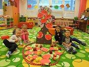 Jablíčkování v MŠ 17. listopadu v Kutné Hoře