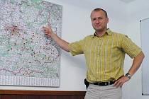 Díky úsilí celého kolektivu pivovaru se puntíky na mapě, které označují zájemce o prodej kácovského piva, čile množí. Samozřejmě k radosti obchodního ředitele Jana Matějky.