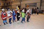 V Čáslavi se proháněly masky na ledě.