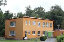 Areál Mateřské školy ve Žlebech.