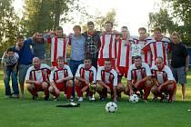 Finále Okresnifotbal.cz Superpoháru 2013: Sedlec - Kutná Hora B 3:2, 14. srpna 2013.