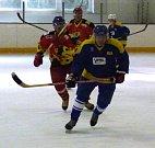 Hokejové utkání legend.
