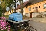 Cisterna s pitnou vodou v Horkách.