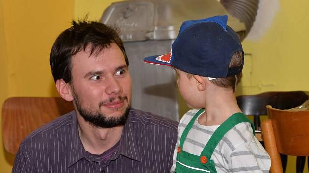 Dětský karneval v hospodě Na Baště na Kaňku.
