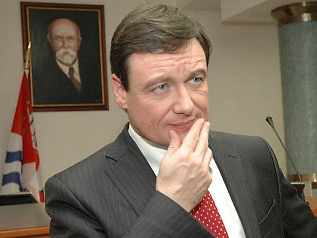 Středočeský hejtman David Rath.