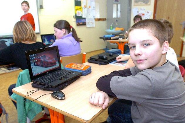 Digi třída na Základní škole Jana Palacha v Kutné Hoře. 13.1.2010