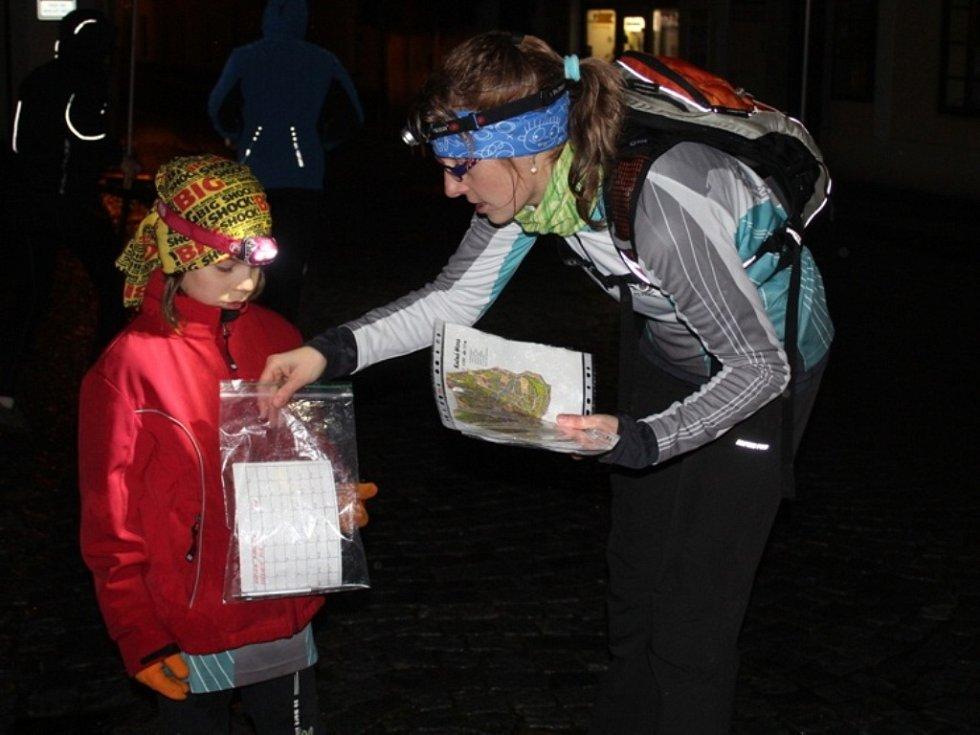 Noční orientační běh v Kutné Hoře