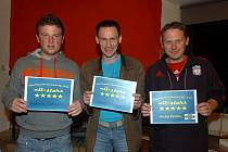 Galavečer Club Deportivo futsalové ligy s předáním cen, 23. března 2012.