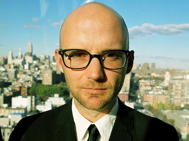 Americký skladatel a zpěvák Moby, vlastním jménem Richard Melville Hall.