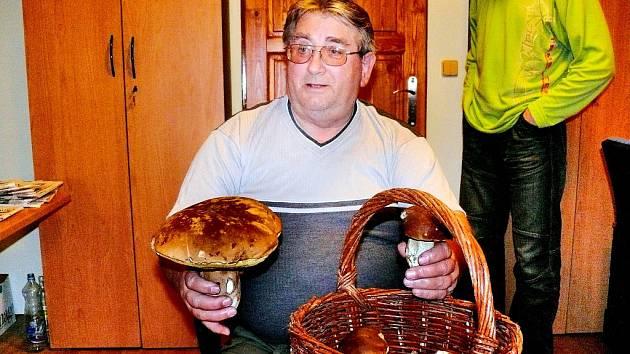 Šťastný houbař