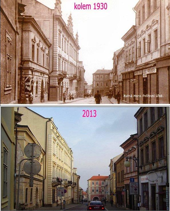 Kutná Hora - Husova ulice