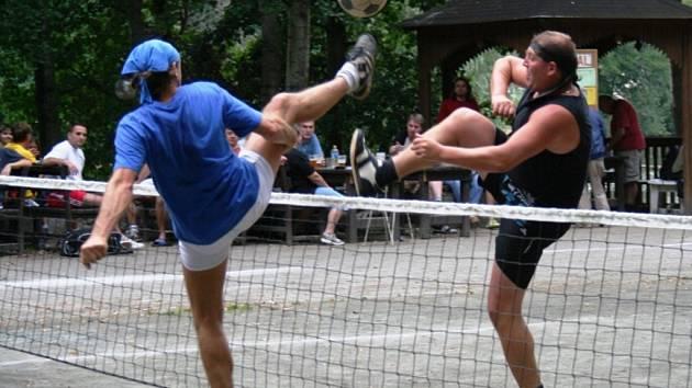 Nohejbalový turnaj v Opatovicích, sobota 2. srpna 2008