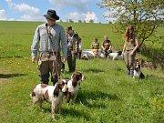 Ve Zbraslavicích se konaly Podzimní zkoušky ostatních plemen.