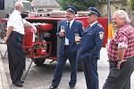 Oslava u příležitosti 120 let Sboru dobrovolných hasičů v Záboří nad Labem.