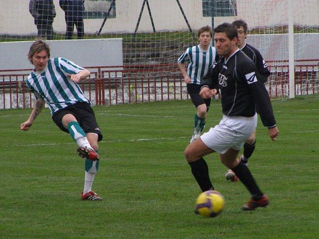 Z fotbalového utkání I.A třídy Kutná Hora - Zeleneč (5:0)