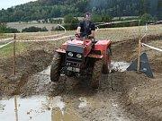 Traktoriáda ve Volavé Lhotě.
