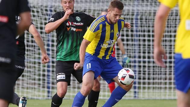 Uhlídat Štěpána Kacafírka  se obráncům Příbrami zcela nepodařilo. Po dvou jeho gólech se prvoligový tým z poháru ostudně poroučel.