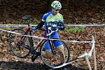 Devátý závod Toi Toi Cupu v cyklokrosu. Závod juniorů na trati v Čáslavi.
