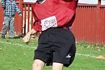 Z fotbalového utkání starší přípravy Kutná Hora A – Červené Janovice 4:1, sobota 23. října 2010.