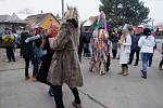 Masopustní masky pochodovaly Úmonínem