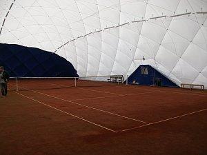 Kutnohorští tenisté mají novou halu