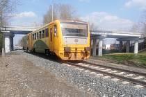 Motorový vlak. Ilustrační foto.