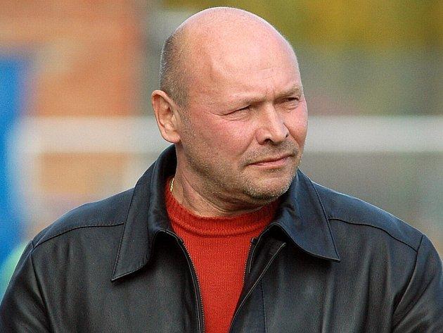 Trenér FC Zenit Čáslav Miroslav Koubek.