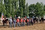 Z třetího ročníku Rodea Kozohlody na ranči Dalu.