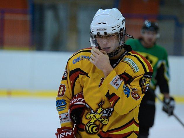 Kutnohorští Sršni porazili ve 26. kole Středočeské hokejové soutěže Příbram 4:2.
