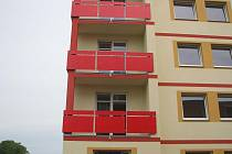 Nové bytové domy.