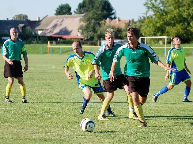 Pohár OFS: Nové Dvory - Kutná Hora B 1:2, 19. srpna 2012.