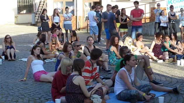 GJOu Student Fest oživil nevyužívané prostory bývalého pivovaru