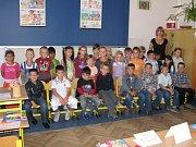 Základní škola Kamenná stezka v Kutné Hoře - 1. třída s paní učitelkou Ivetou Mašínovou.