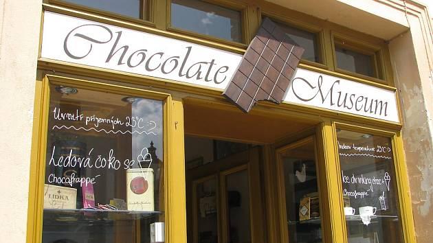 Muzeum čokolády & čokoládovna v Kutné Hoře.