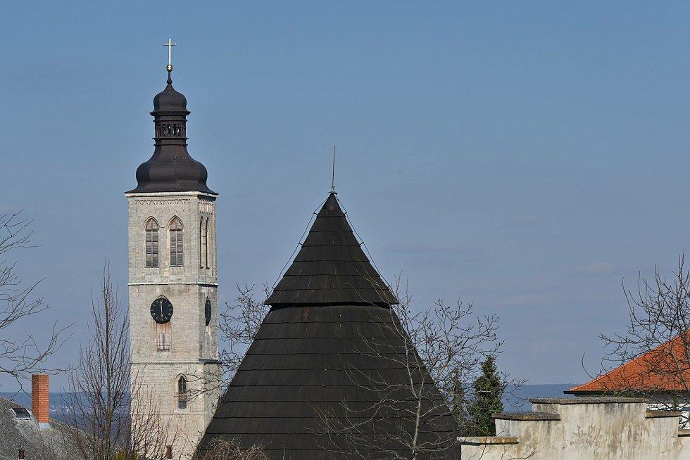 Velikonoční neděle v zahradách Galerie Středočeského kraje v Kutné Hoře.