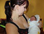 David Verunáč se narodil 4. července v Čáslavi s váhou 3400 gramů a mírou 52 centimetrů. V Zaříčanech se na něj těší tatínek Martin a maminka Markéta.