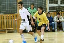 Druhé zápasy předkola play off Club Deportivo futsalové ligy, 23. února 2012.