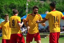 Fotbalisté Uhlířských Janovic se vrátili do krajských soutěží.