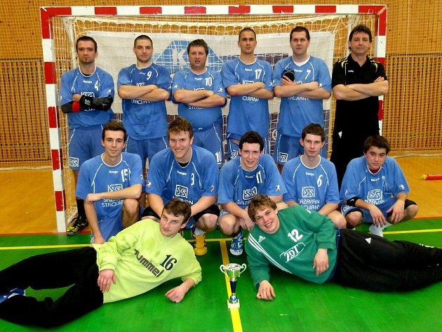 Házenkáři Jiskry Zruč nad Sázavou vyhráli domácí turnaj.