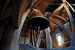 Nový zvon se rozezněl v neděli po mši, odpoledne odstartoval Běh pro zvon